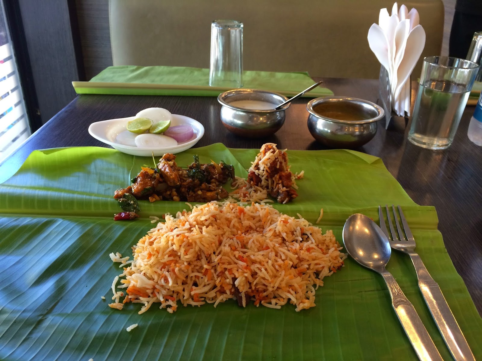 Biryani at Nagarjuna Bangalore