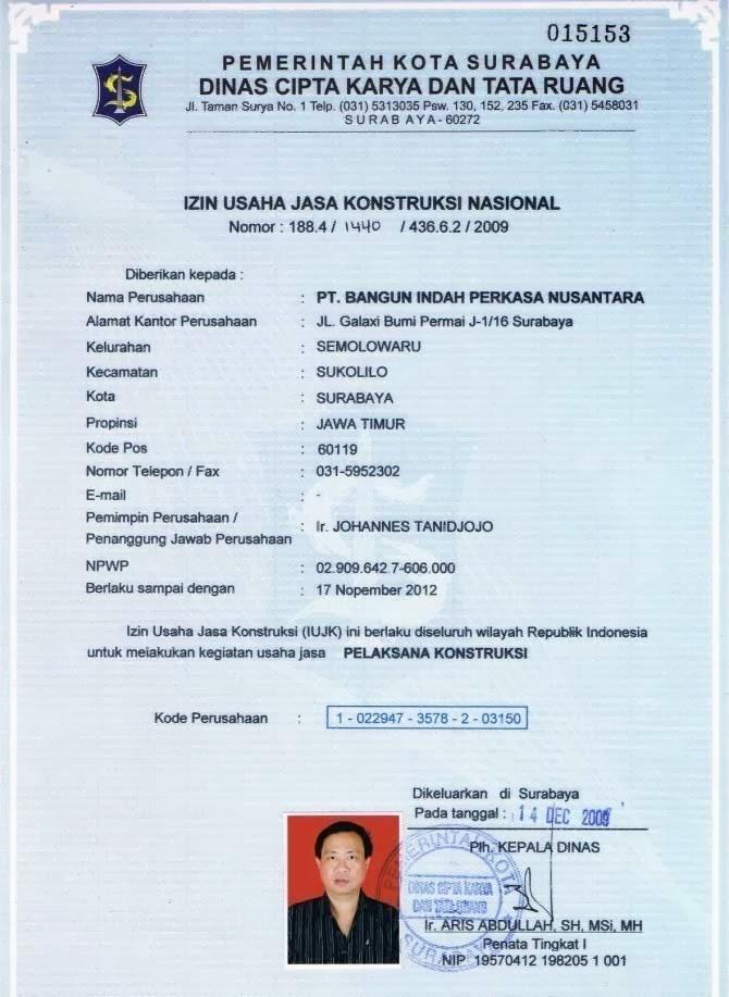 Welcome In My World Dokumen Legalitas Perizinan Usaha