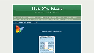 SSuite Office - Writer's D'Lite, Office Aplication