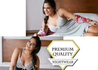 Zivame : Buy Comfortable And Beautiful Nightwear Collection & Get flat 50% off