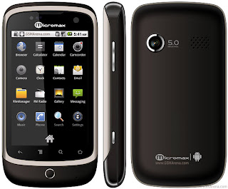 Micromax A70 from India