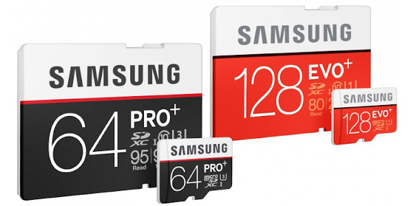 Samsung announces new, faster SD and microSD cards