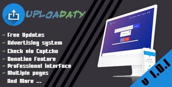 Uploadaty - Simple File Upload Script
