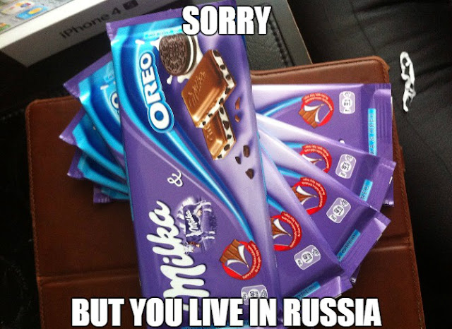 sorry but you live in russia