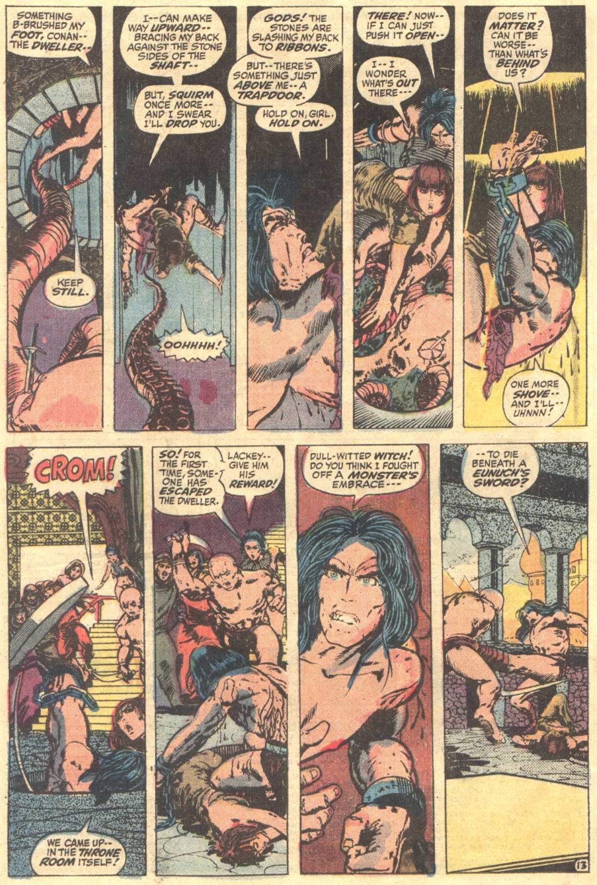 Conan the Barbarian (1970) Issue #12 #24 - English 14
