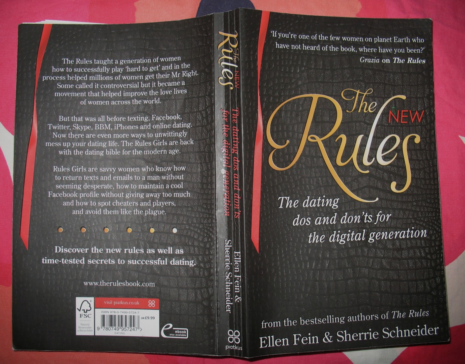 the new rules the dating dos and donts The new rules: the dating dos and don'ts for the digital generation from the bestselling authors of the rules ebook: ellen fein, sherrie schneider: amazoncomau: kindle store.