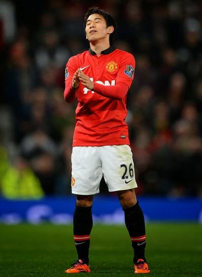 Shinji Kagawa Man Utd Midfielder profile 20132014