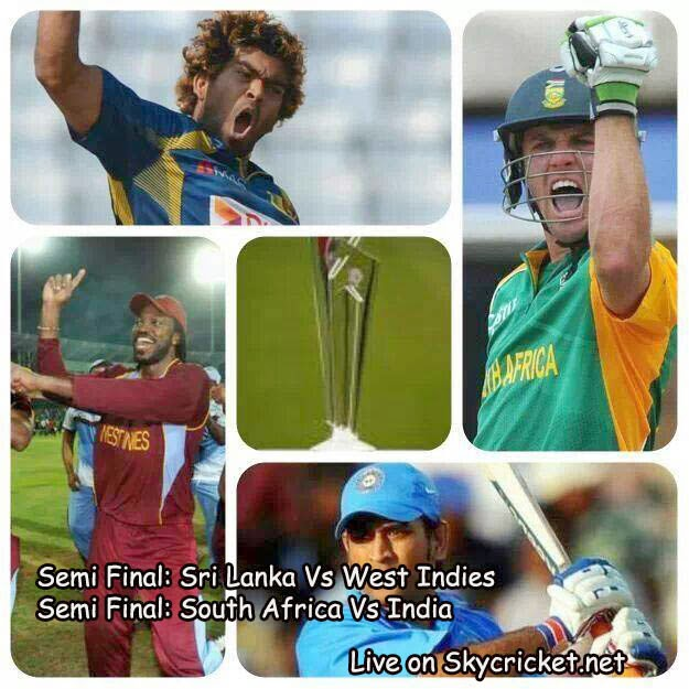 ICC World twenty20 semi finals