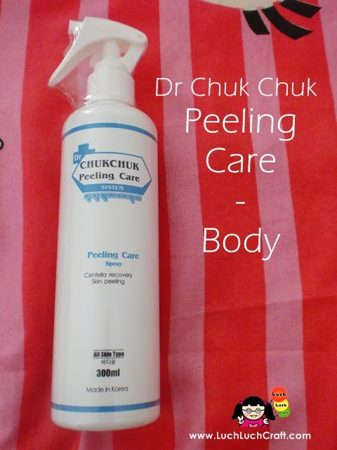 Review: Dr Chuk Chuk Peeling Care For Body