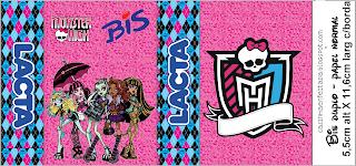 Kit Festa Monster High Para imprimir Grátis