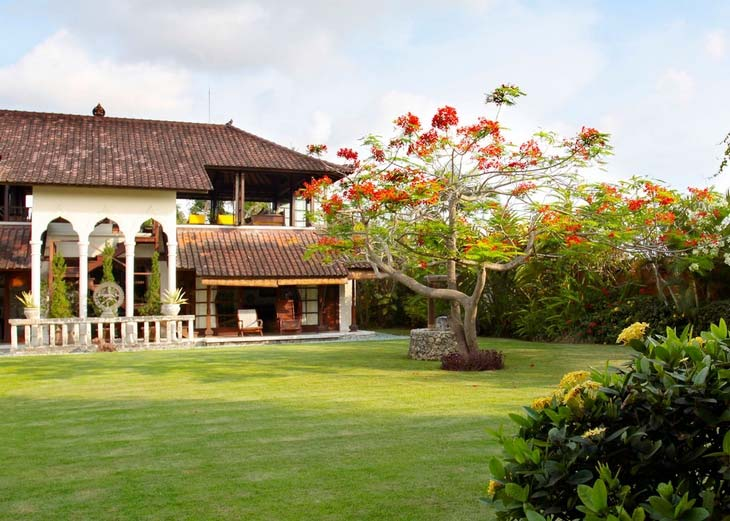Дизайн интерьера: красивый дом на Бали