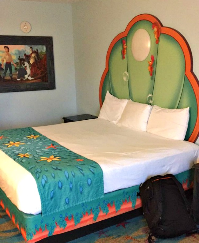 Disney World Recap - We stayed at the Art of Animation resort, in the Little Mermaid themed rooms.