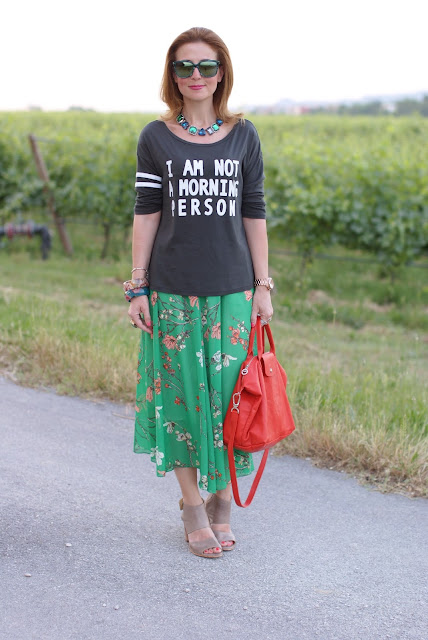 HYPE GLASS sunglasses, Lemaré shoes, Cichic skirt, Fashion and Cookies, fashion blogger