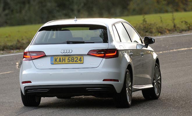 Audi A3 Sportback e-tron rear view