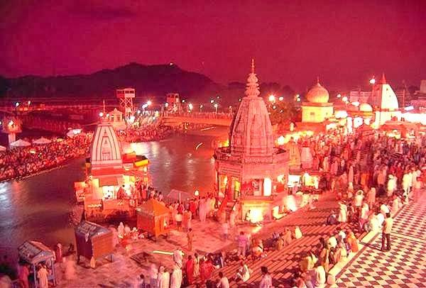 Gange Arti at Haridwar