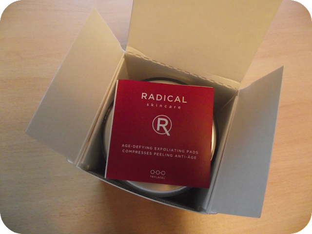 Radical Skincare packaging