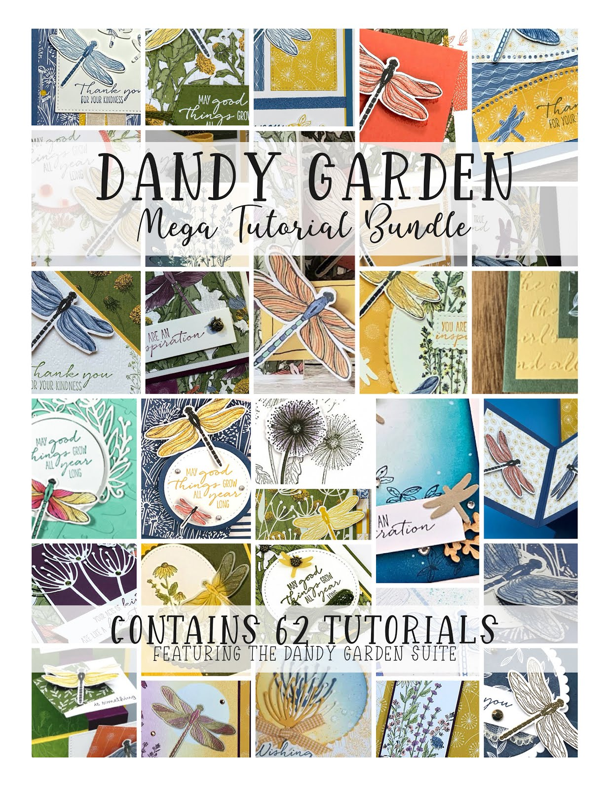 Dandy Garden Mega Tutorial Bundle