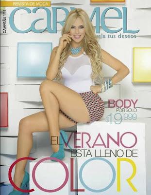 catalogo carmel campaña 1 2014 moda de mujer