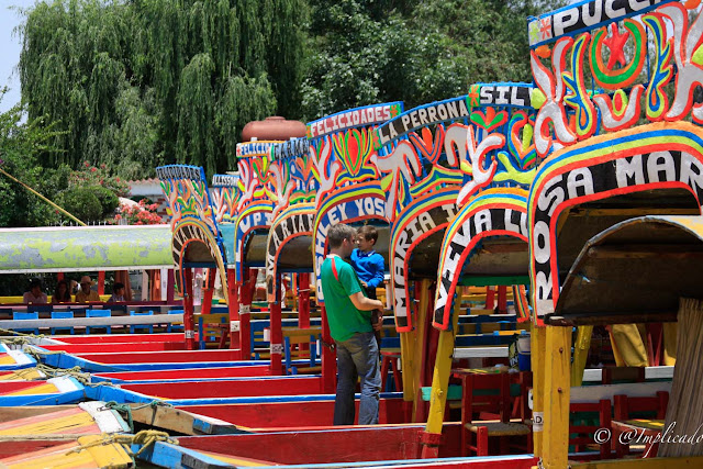Travelling Mexico: Xochimilco canals