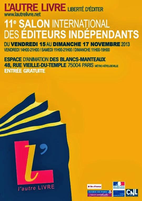 Les éditions Le Cadran ligné au Salon des éditeurs indépendants, L'Autre Livre