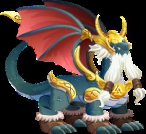 imagen del dragon odin adulto