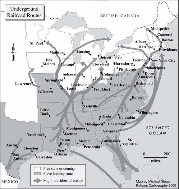 The Underground Railroad: The Underground Railroad of the 19th-century