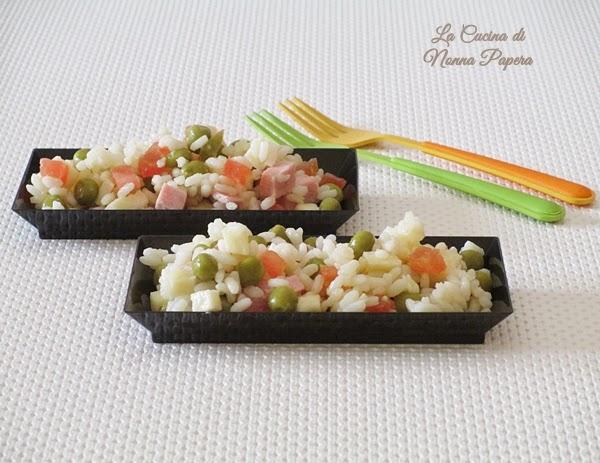 insalata di riso ricetta classica