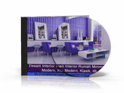desain interior bernuansa ungu