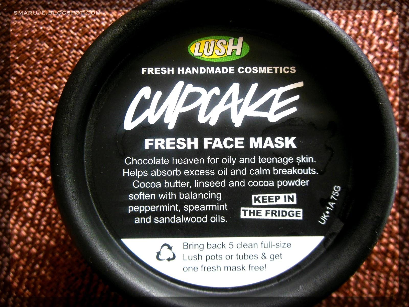 Lush – Cupcake, czyli (wcale nie taka) czekoladowa maseczka do twarzy [recenzja]