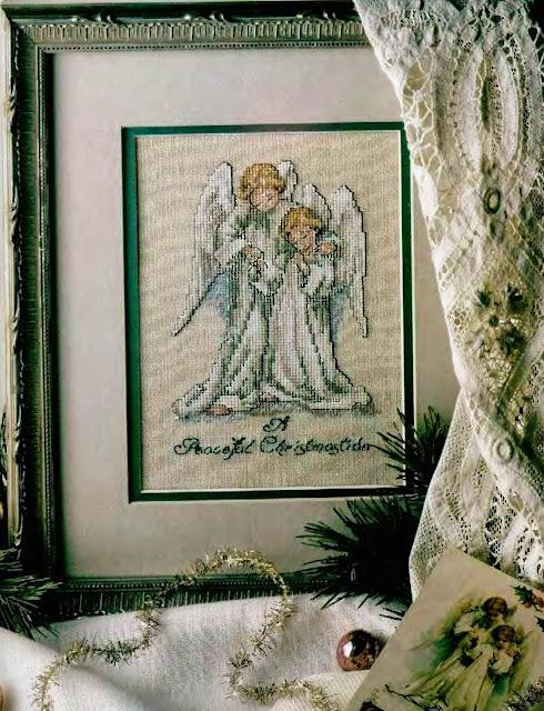 """Милые сердцу штучки: Новогодняя вышивка: """"Ангелы"""": http://irinapetrenko.blogspot.com/2013/10/blog-post_6753.html"""