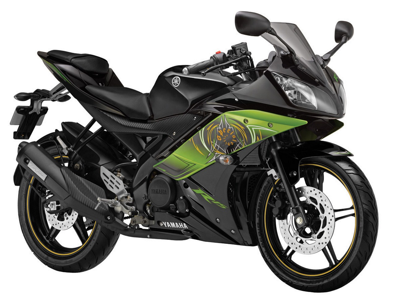 Indian Automobiles Yamaha R15 V2 New Colours Launched