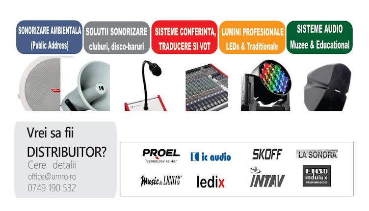 Echipamente Audio Profesionale