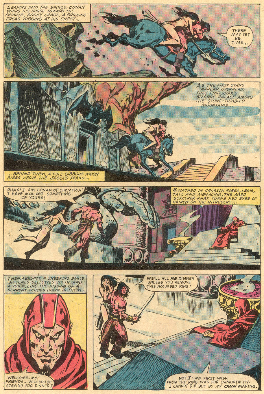 Conan the Barbarian (1970) Issue #131 #143 - English 19