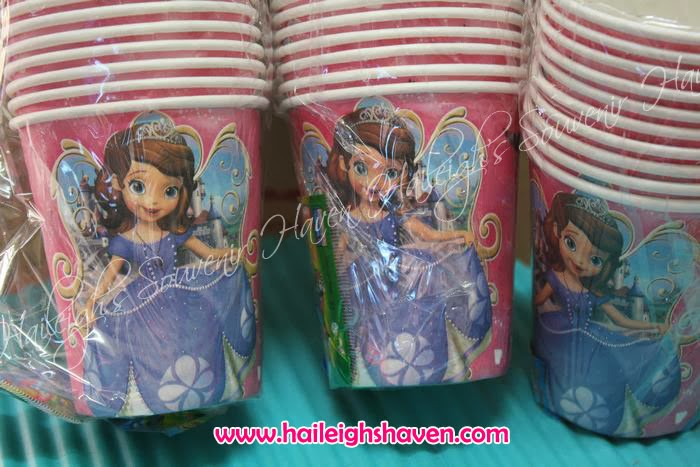 PAPER CUPS (10s) PRICE 40 PESOS/PACK & SOFIA THE FIRST GIVEAWAYS AND PARTY SUPPLIES | Haileighu0027s Souvenir Haven