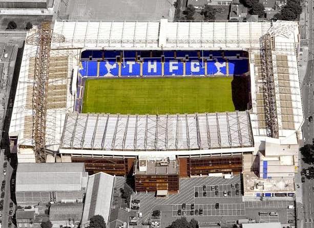 White Hart Lane - Tottenham Hotspur F.C. Stadium