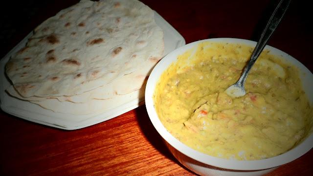 chapati guacamole