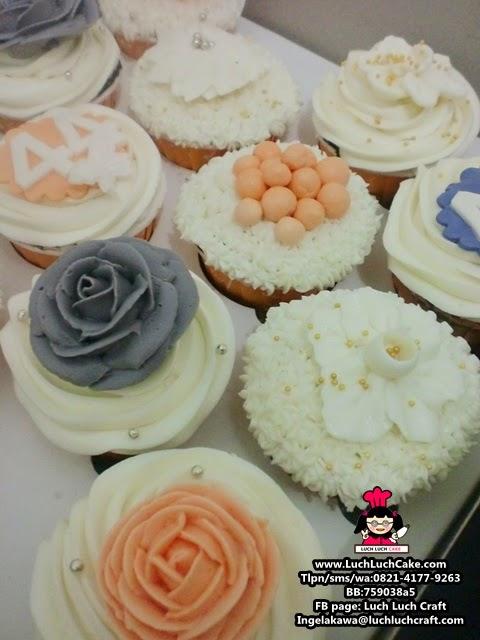 Cupcake Bunga Cantik Untuk istri