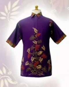 model baju batik laki-laki