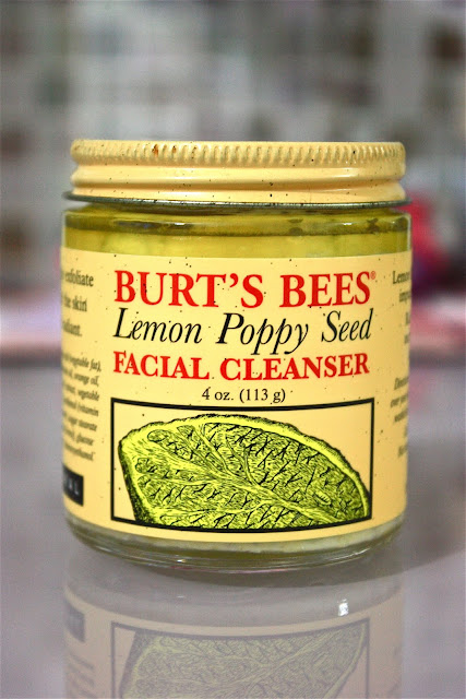 Burt's Bees Lemon Poppy Seed Cleanser
