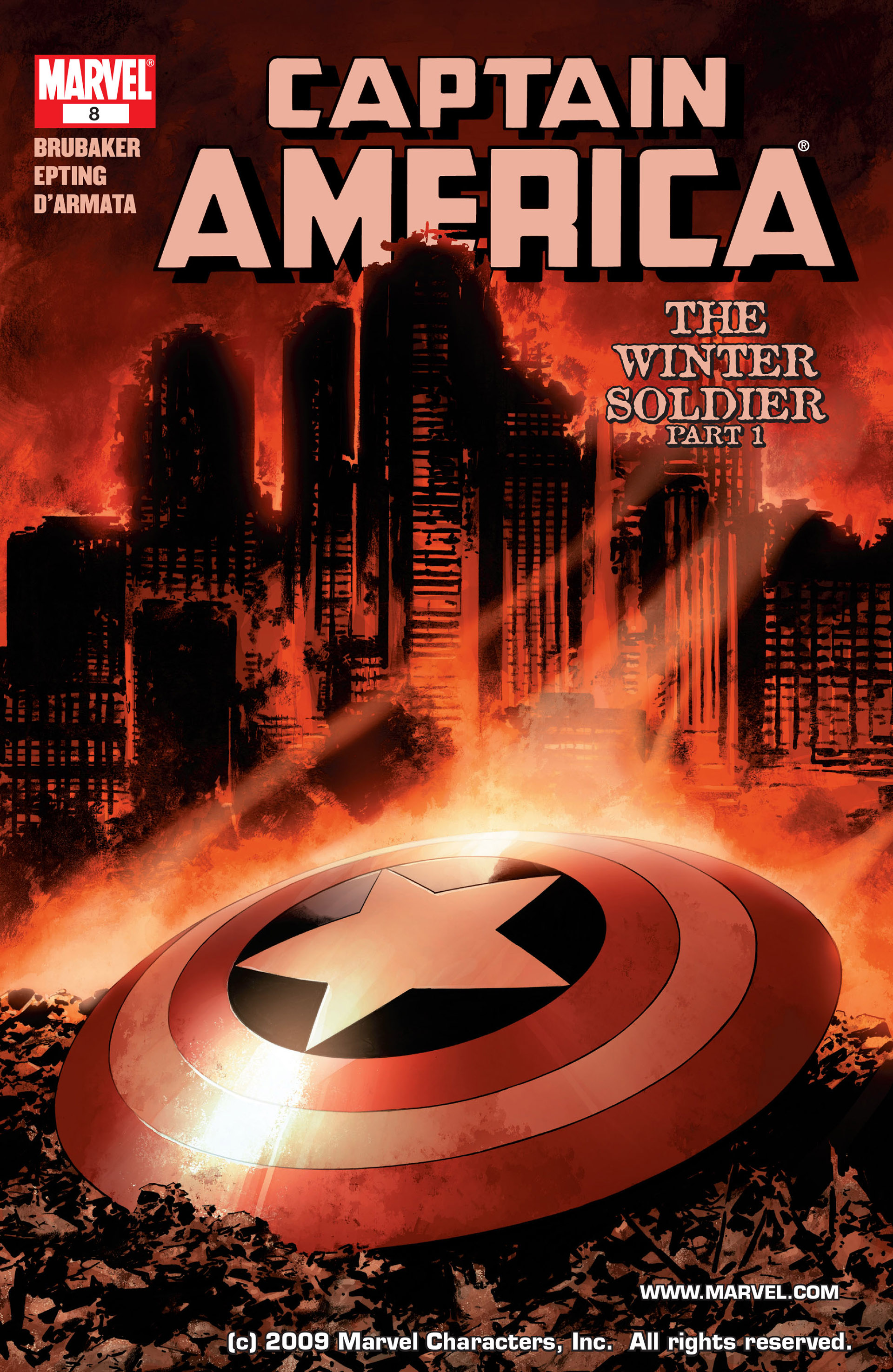 Captain America (2005) Issue #8 #8 - English 1