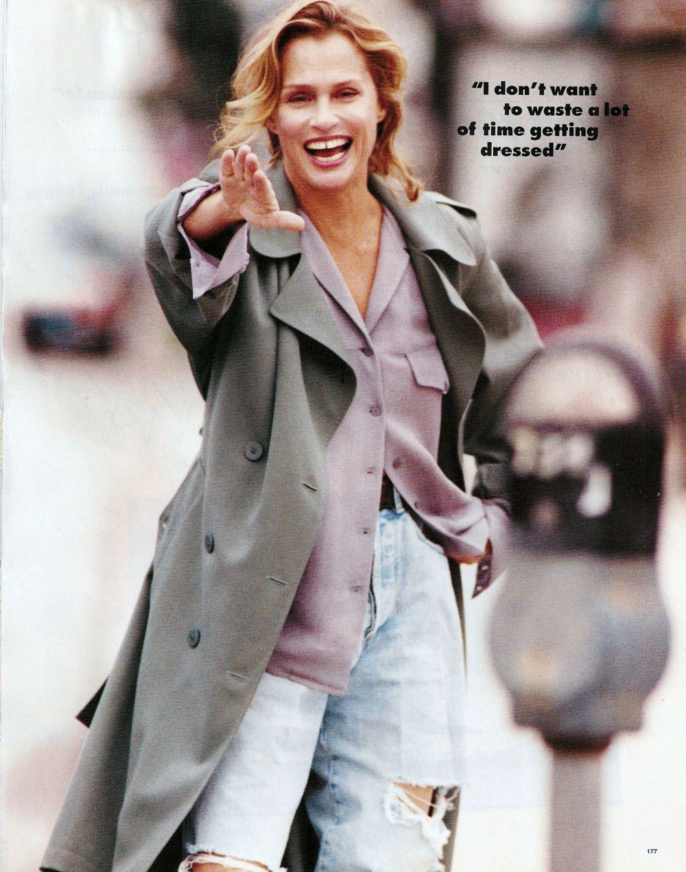 Elle US February 1994 via www.fashionedbylove.co.uk