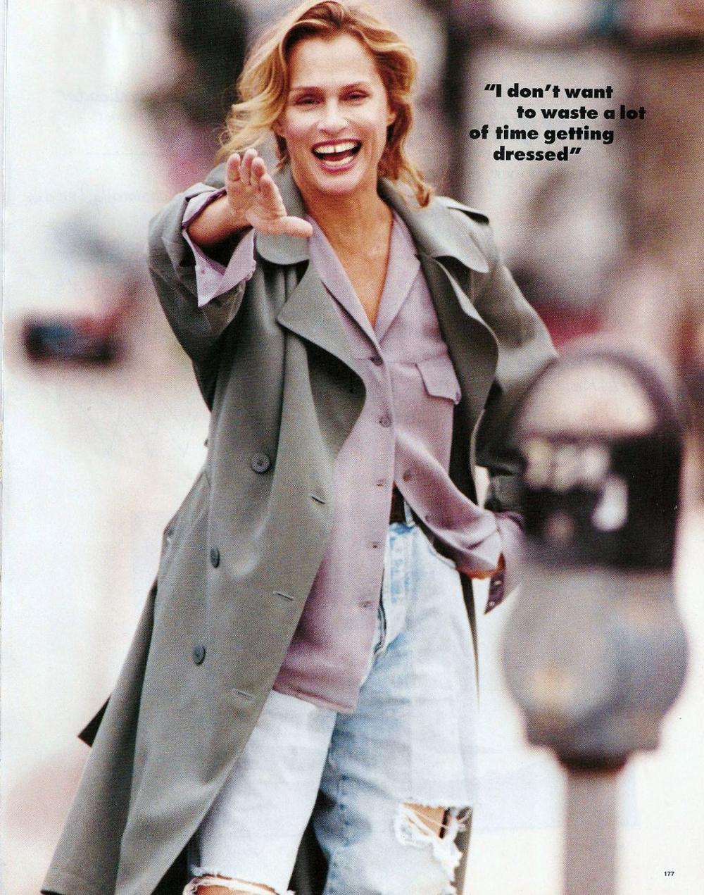 Elle US February 1994 via www.fashionedbylove.co.uk