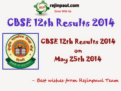 CBSE 12th Results 2014