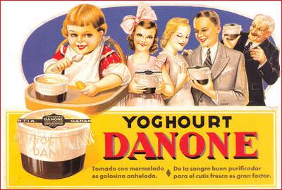 anuncio retro Danone