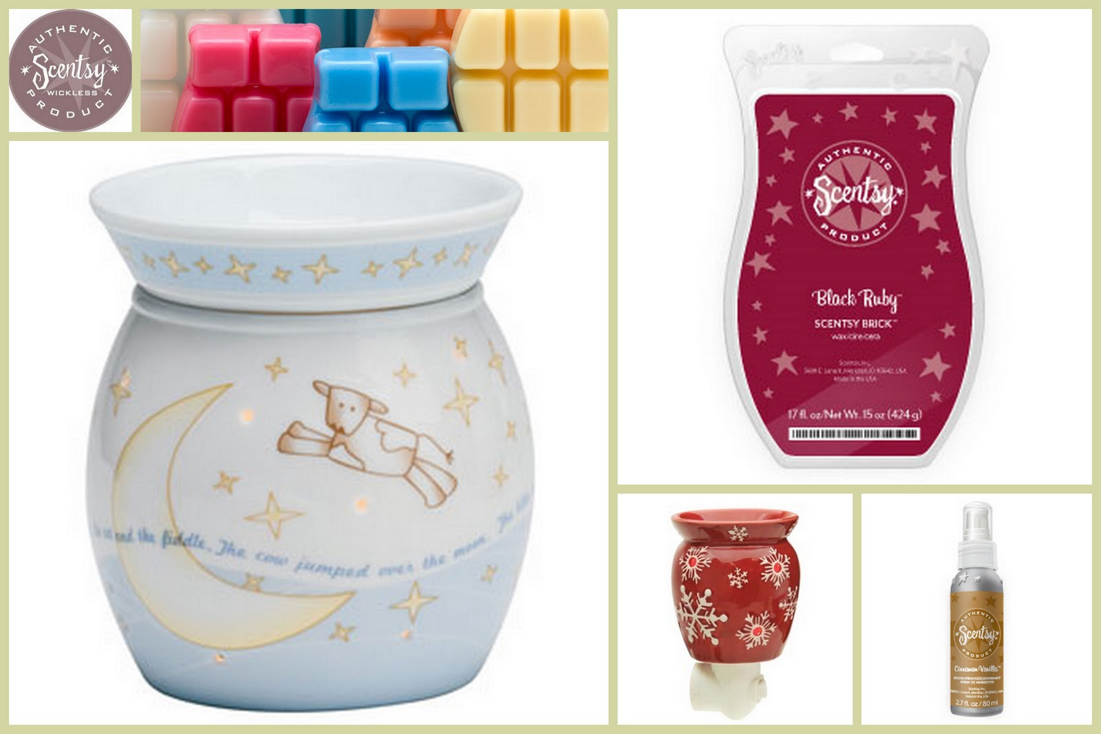 Serenity Now: Scentsy Holiday Warmer and Scent Giveaway!