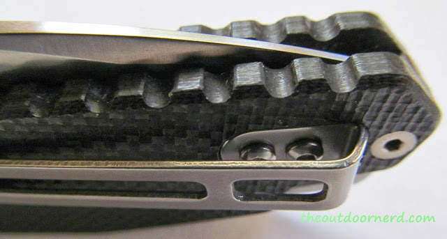 SanRenMu GB-763 Pocket Knife - Fit And Finish 2