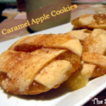 Caramel Apple Cookies by The Shady Porch #recipe #cookies #apples #caramel