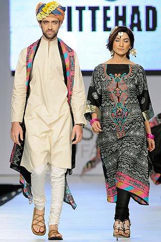 Ittehad Lawn 2012 @ 5th PFDC Sunsilk Fashion Week 2012