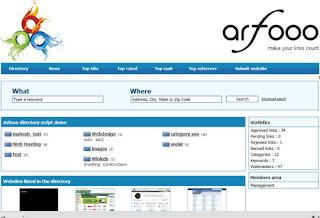 Arfooo Directory