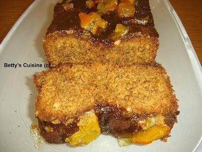 Κέικ με μαρμελάδα πορτοκάλι